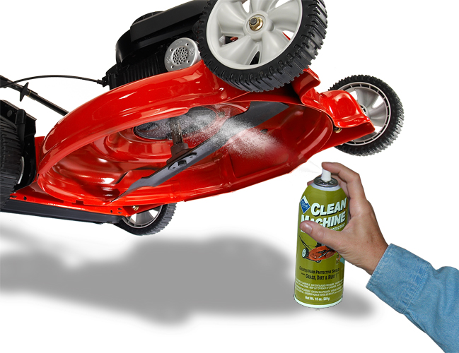 Non-Stick Mower Protectant